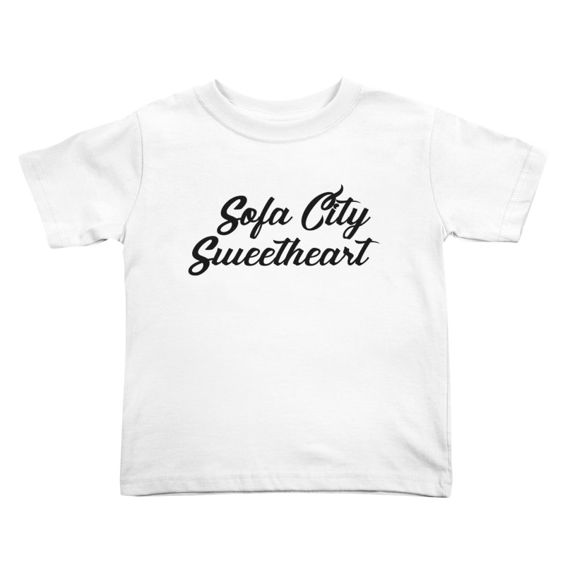 "Sofa City ""Summer Camp"" (Black Font) Kids Toddler T-Shirt by Sofa City Sweetheart Discount Superstore"