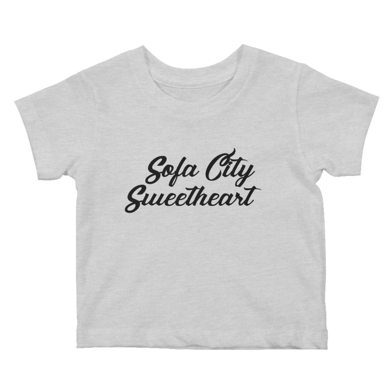 "Sofa City ""Summer Camp"" (Black Font) Kids Baby T-Shirt by Sofa City Sweetheart Discount Superstore"