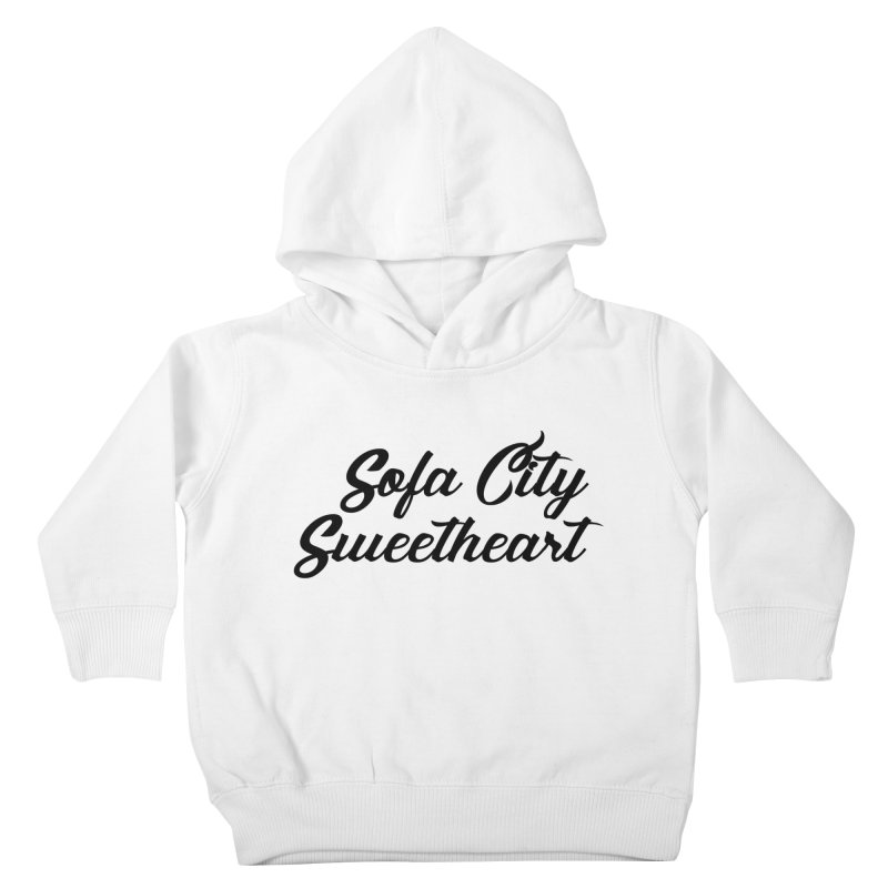 """Sofa City """"Summer Camp"""" (Black Font) Kids Toddler Pullover Hoody by Sofa City Sweetheart Discount Superstore"""