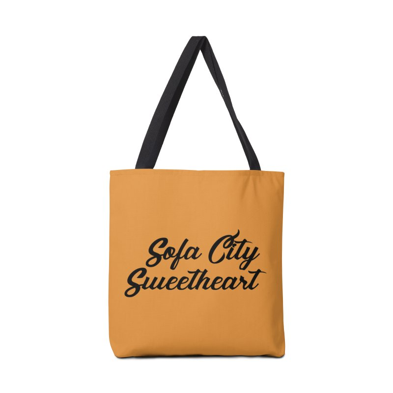 "Sofa City ""Summer Camp"" (Black Font) Accessories Bag by Sofa City Sweetheart Discount Superstore"
