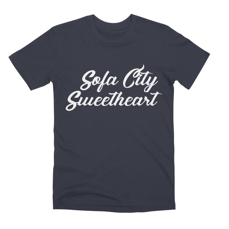 "Sofa City ""Summer Camp"" (White Font) Men's Premium T-Shirt by Sofa City Sweetheart Discount Superstore"