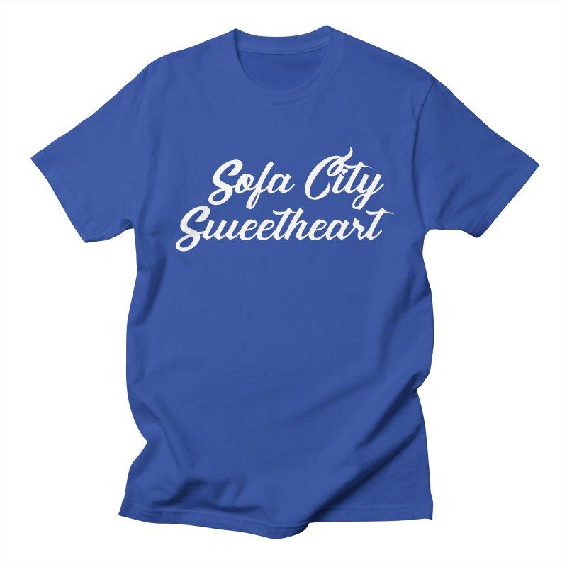 "Sofa City ""Summer Camp"" (White Font) Women's Regular Unisex T-Shirt by Sofa City Sweetheart Discount Superstore"