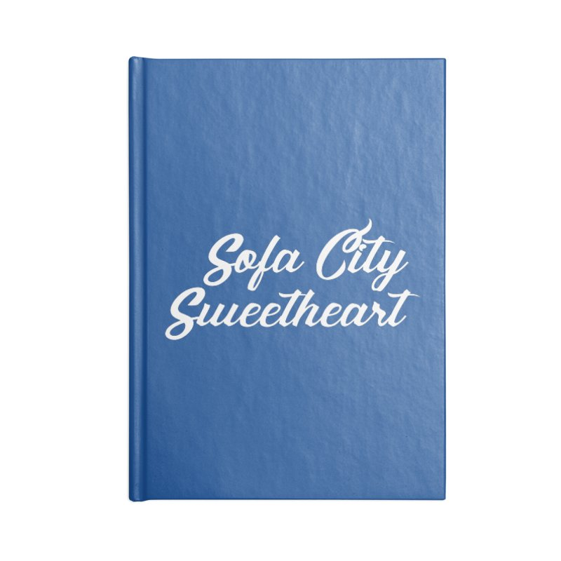 "Sofa City ""Summer Camp"" (White Font) Accessories Lined Journal Notebook by Sofa City Sweetheart Discount Superstore"