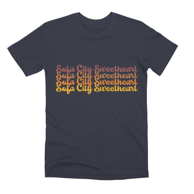 Sofa City Sweetheart - On Repeat! Men's T-Shirt by Sofa City Sweetheart Discount Superstore