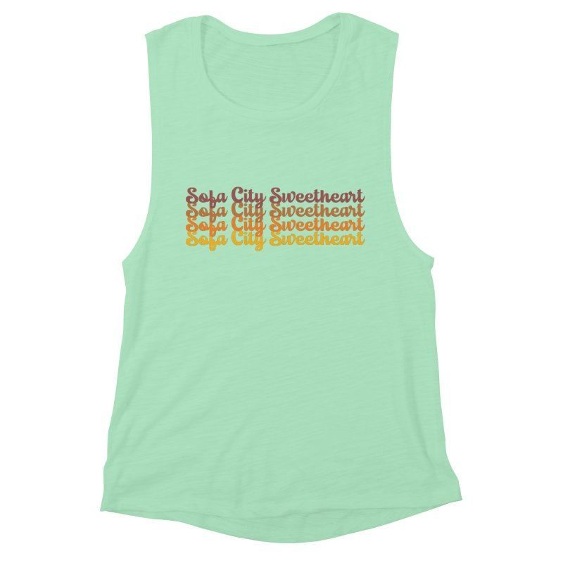 Sofa City Sweetheart - On Repeat! Women's Tank by Sofa City Sweetheart Discount Superstore