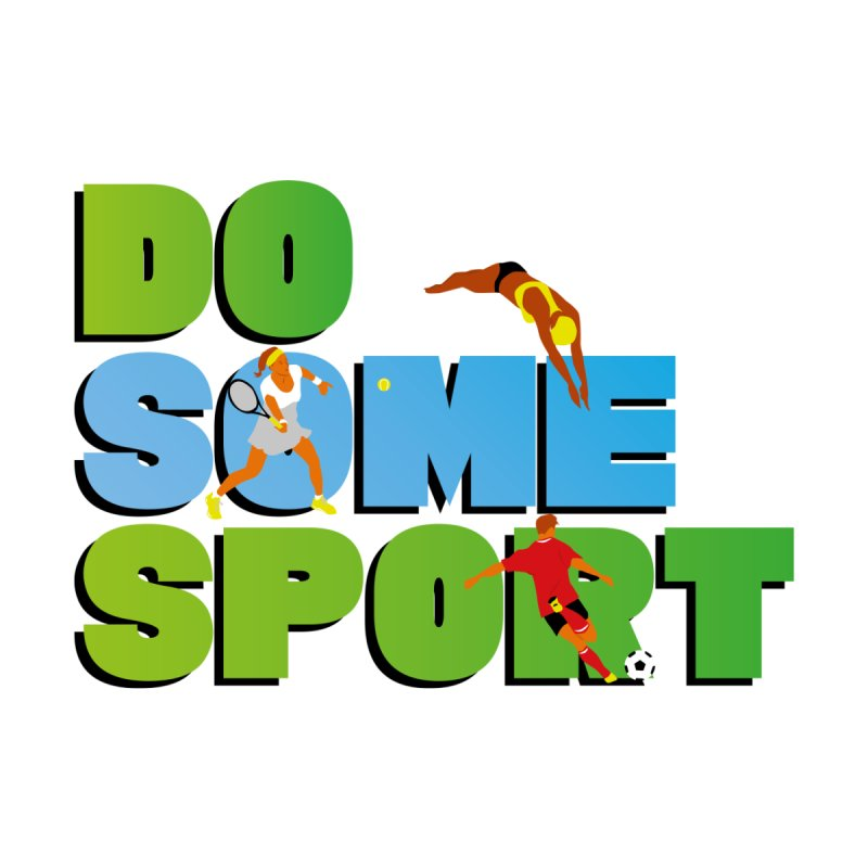 Do some sport Accessories Magnet by Sofimartina's Artist Shop