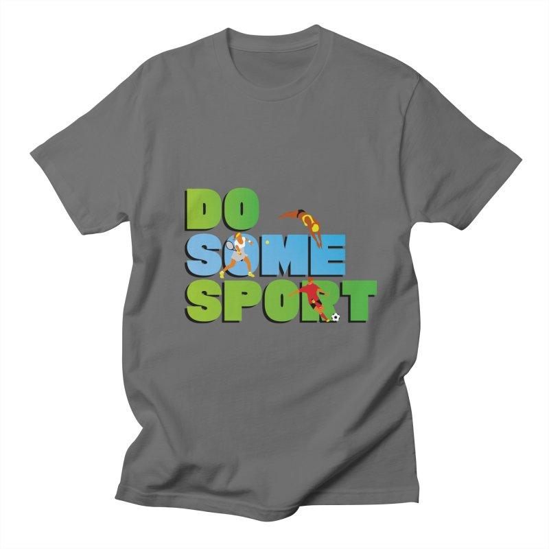 Do some sport Men's T-Shirt by Sofimartina's Artist Shop