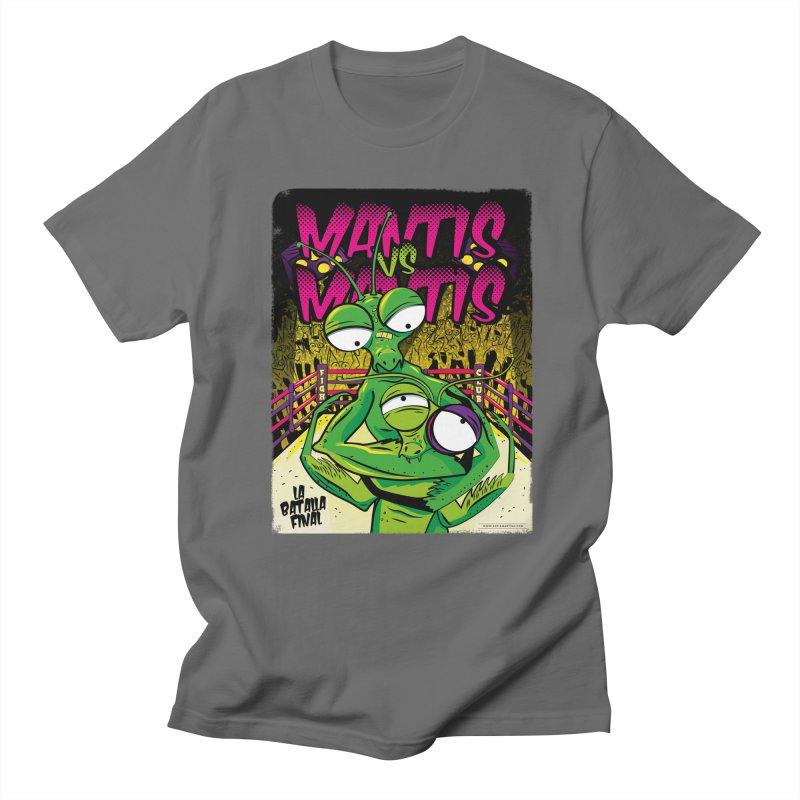 Mantis vs Mantis Men's T-Shirt by Sofimartina's Artist Shop