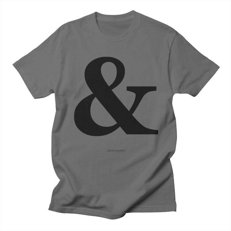 Type & Black Men's T-Shirt by Sofimartina's Artist Shop