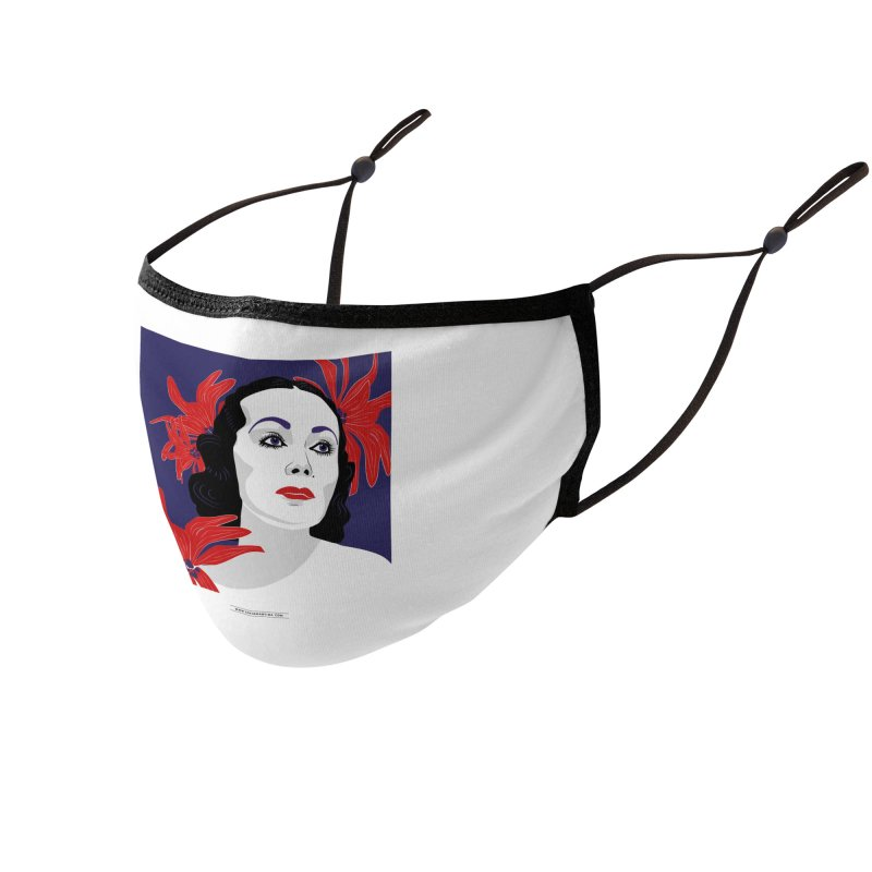 Old Hollywood glamor Accessories Face Mask by Sofimartina's Artist Shop