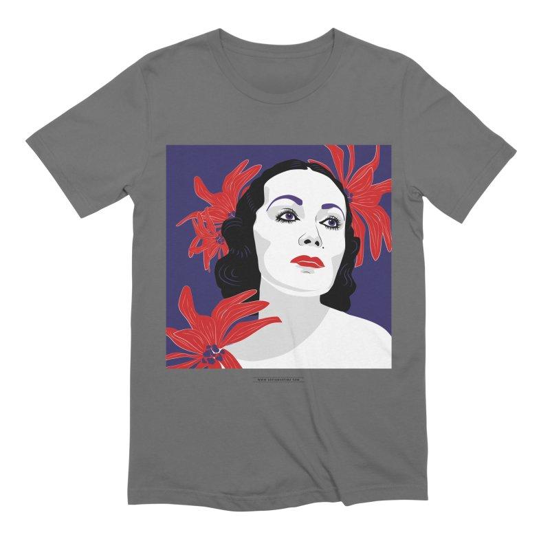 Old Hollywood glamor Men's T-Shirt by Sofimartina's Artist Shop