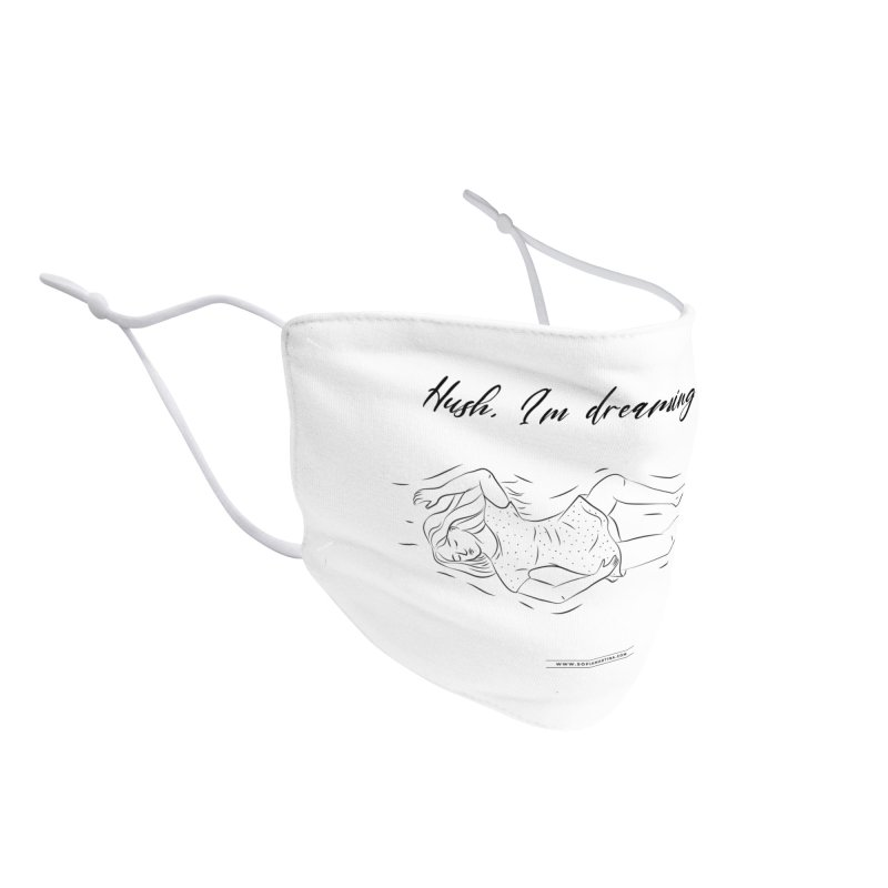 Hush, i'm dreaming Accessories Face Mask by Sofimartina's Artist Shop