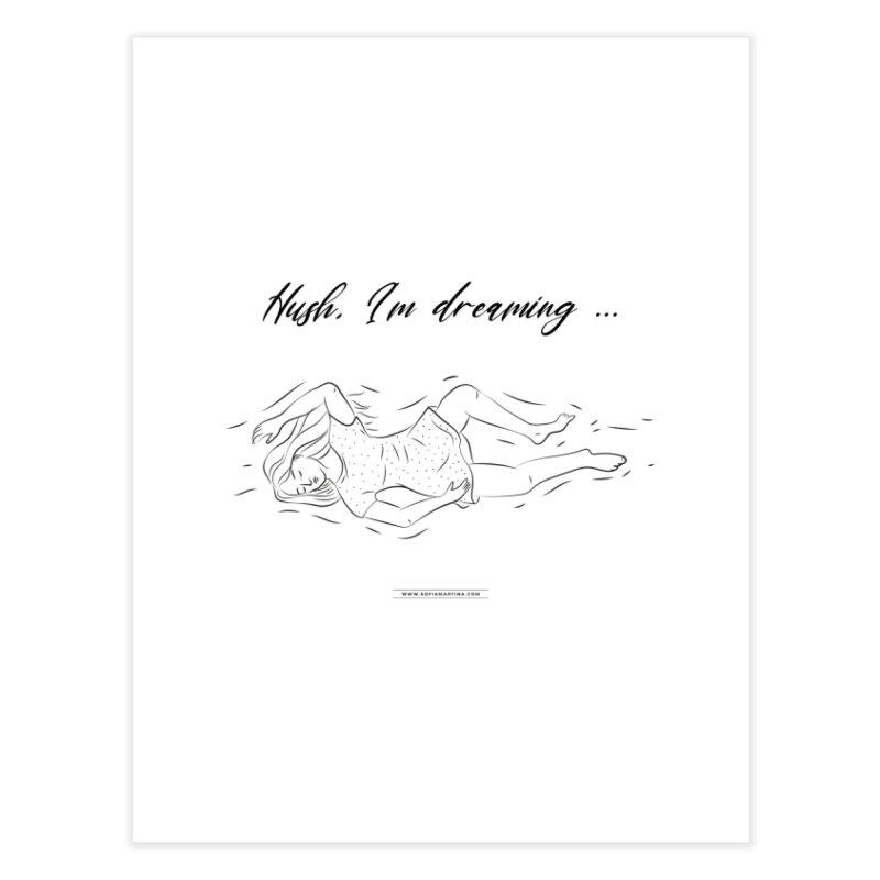 Hush, i'm dreaming Home Fine Art Print by Sofimartina's Artist Shop