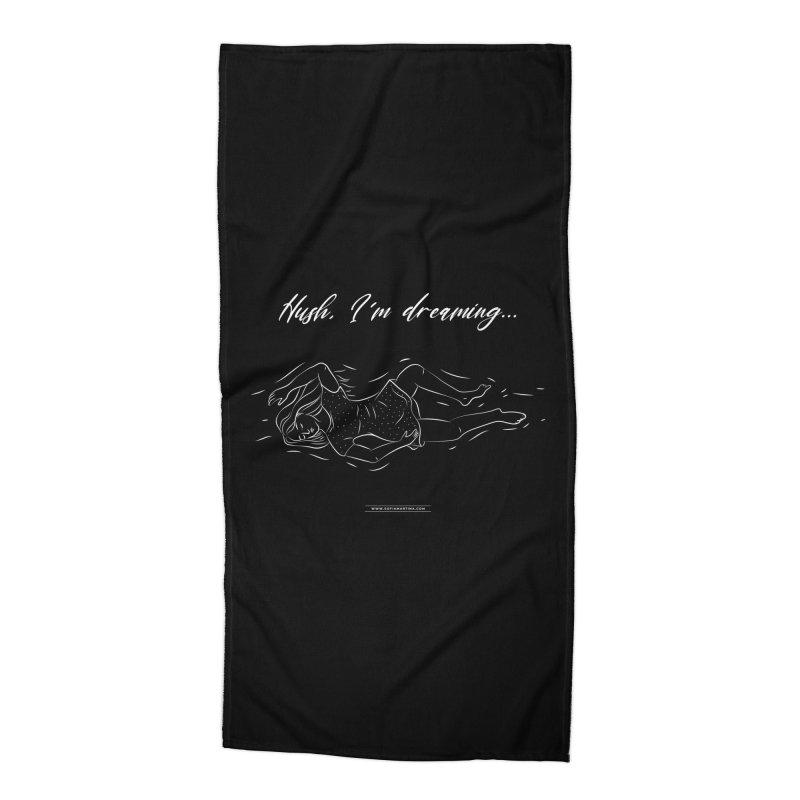 Hush... Accessories Beach Towel by Sofimartina's Artist Shop
