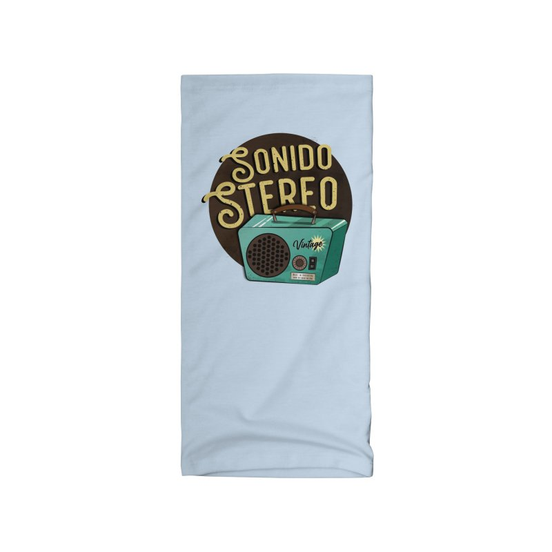Sonido Stereo Accessories Neck Gaiter by Sofimartina's Artist Shop