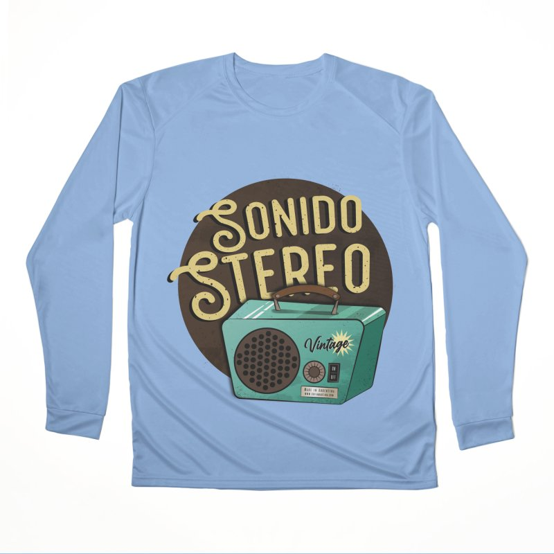 Sonido Stereo Men's Longsleeve T-Shirt by Sofimartina's Artist Shop