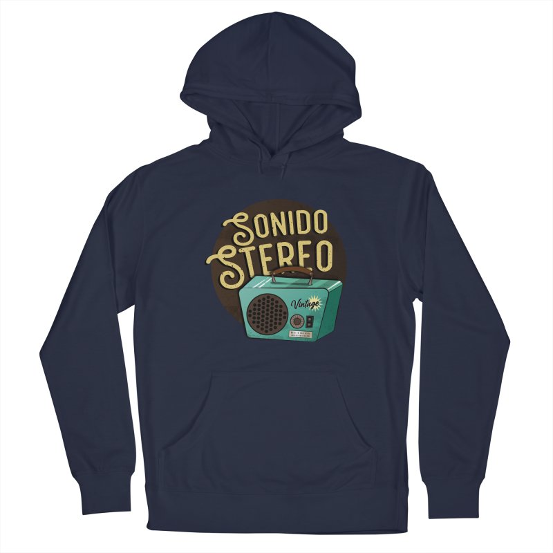 Sonido Stereo Men's Pullover Hoody by Sofimartina's Artist Shop