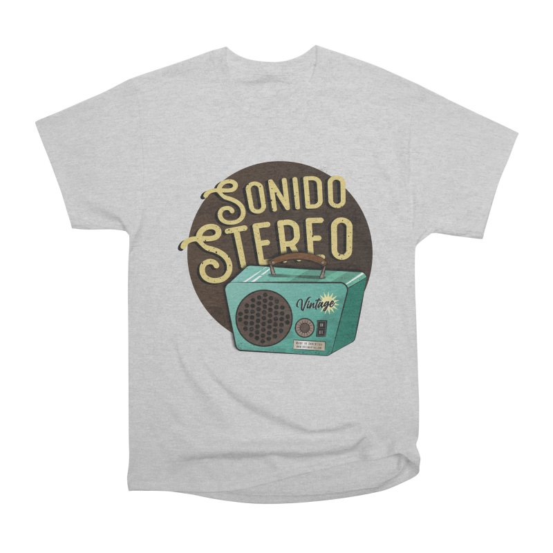 Sonido Stereo Men's T-Shirt by Sofimartina's Artist Shop