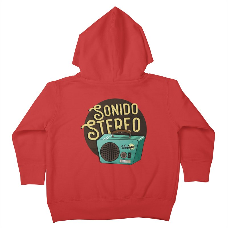 Sonido Stereo Kids Toddler Zip-Up Hoody by Sofimartina's Artist Shop