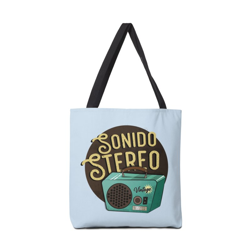 Sonido Stereo Accessories Bag by Sofimartina's Artist Shop