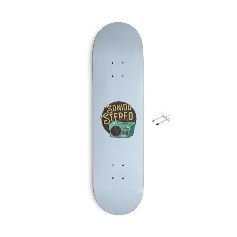 Sonido Stereo Accessories Skateboard by Sofimartina's Artist Shop