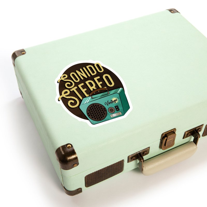 Sonido Stereo Accessories Sticker by Sofimartina's Artist Shop