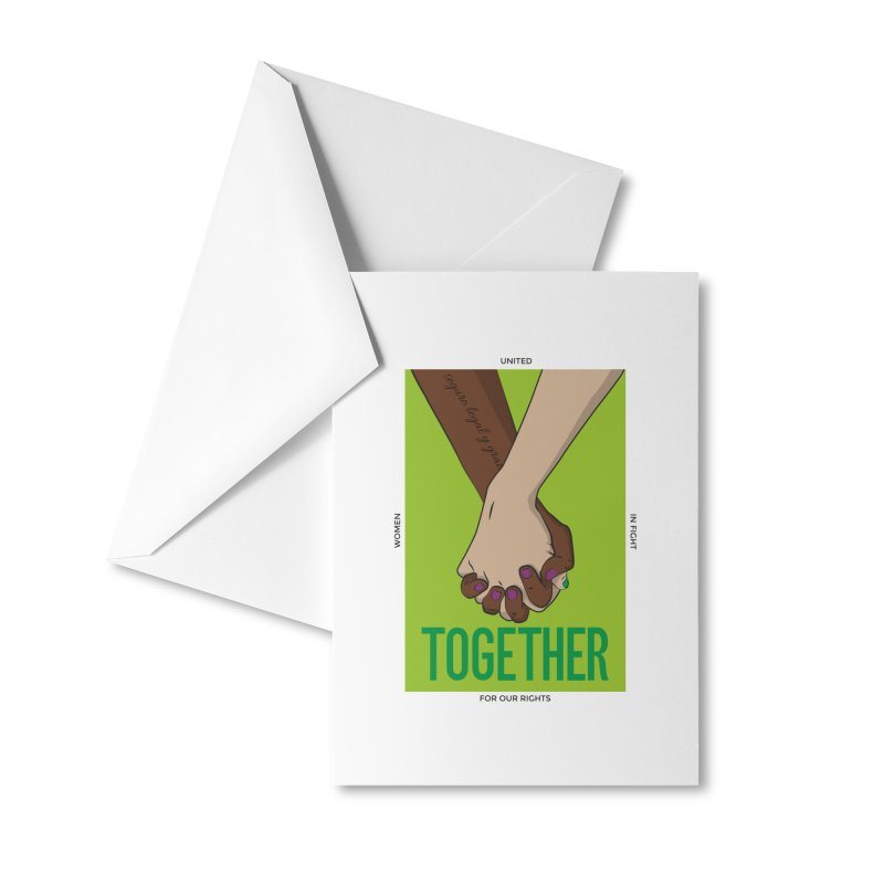 Together Accessories Greeting Card by Sofimartina's Artist Shop