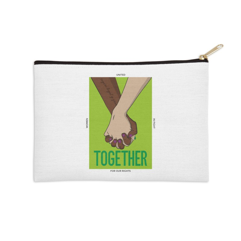 Together Accessories Zip Pouch by Sofimartina's Artist Shop