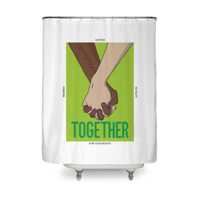 Together Home Shower Curtain by Sofimartina's Artist Shop