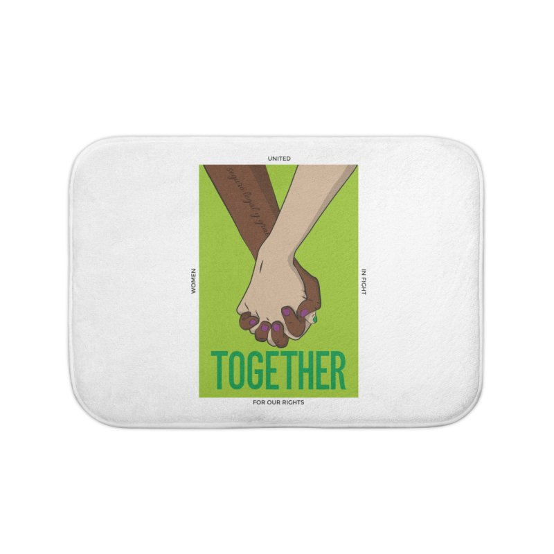 Together Home Bath Mat by Sofimartina's Artist Shop