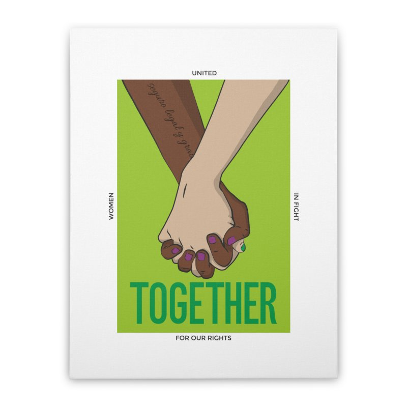 Together Home Stretched Canvas by Sofimartina's Artist Shop