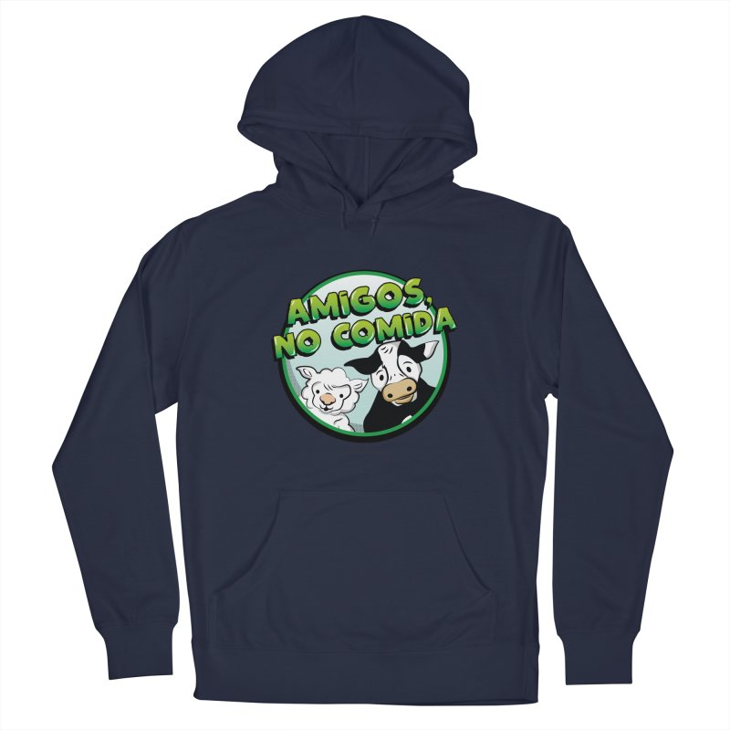 Friends, no food Men's Pullover Hoody by Sofimartina's Artist Shop