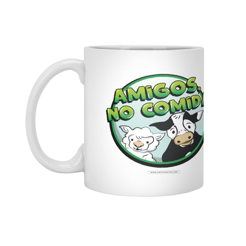 Friends, no food Accessories Mug by Sofimartina's Artist Shop