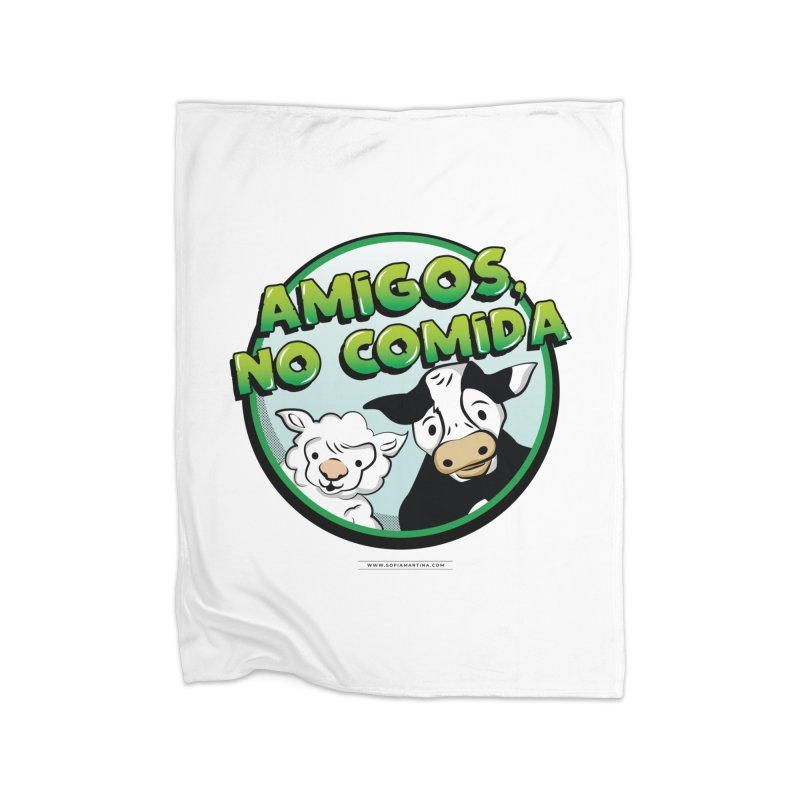 Friends, no food Home Blanket by Sofimartina's Artist Shop