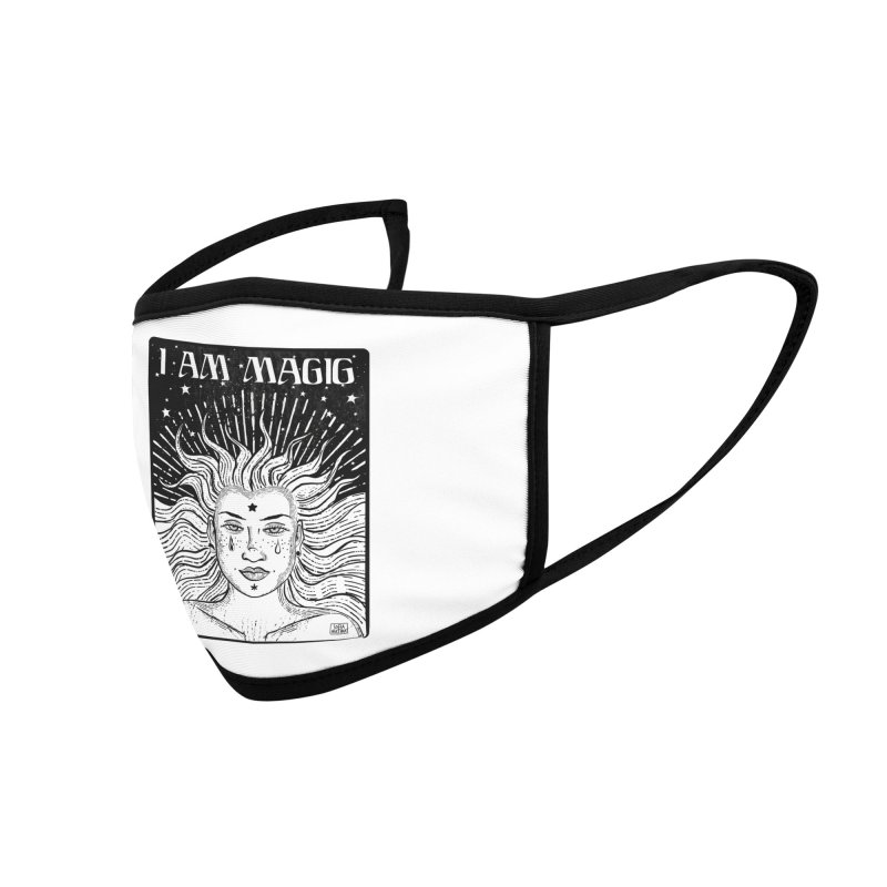 I am magic Accessories Face Mask by Sofimartina's Artist Shop