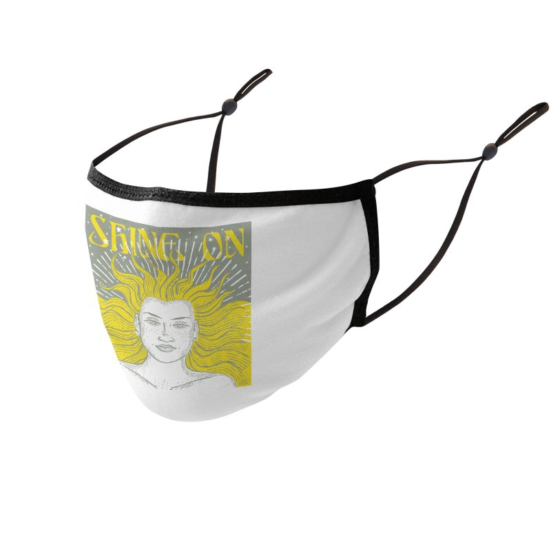 Shine on Accessories Face Mask by Sofimartina's Artist Shop