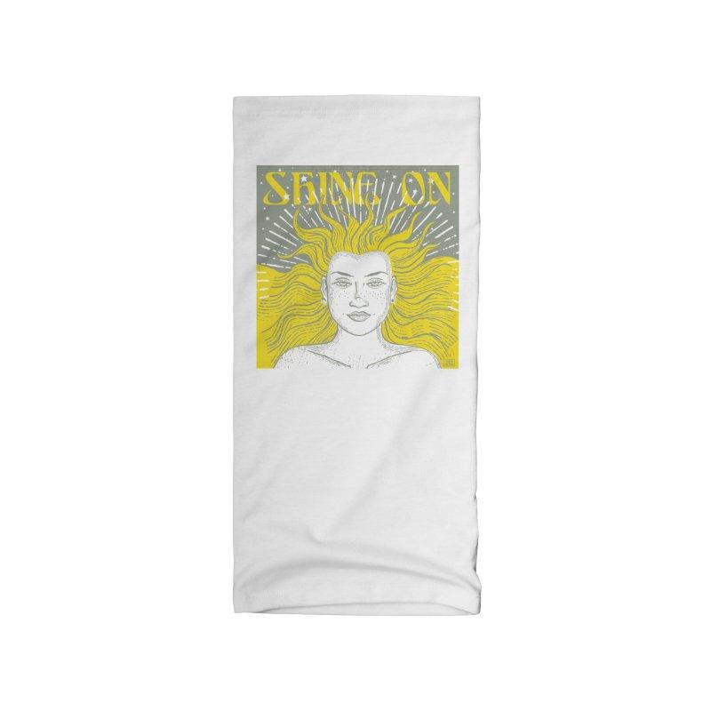 Shine on Accessories Neck Gaiter by Sofimartina's Artist Shop