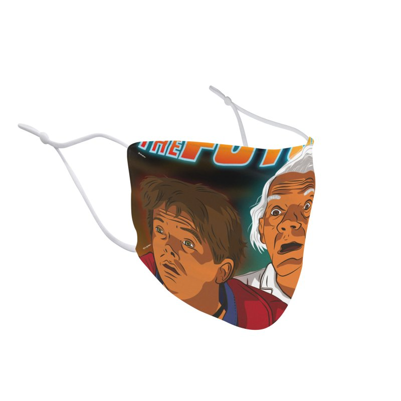 Back to the future Fan Art Accessories Face Mask by Sofimartina's Artist Shop