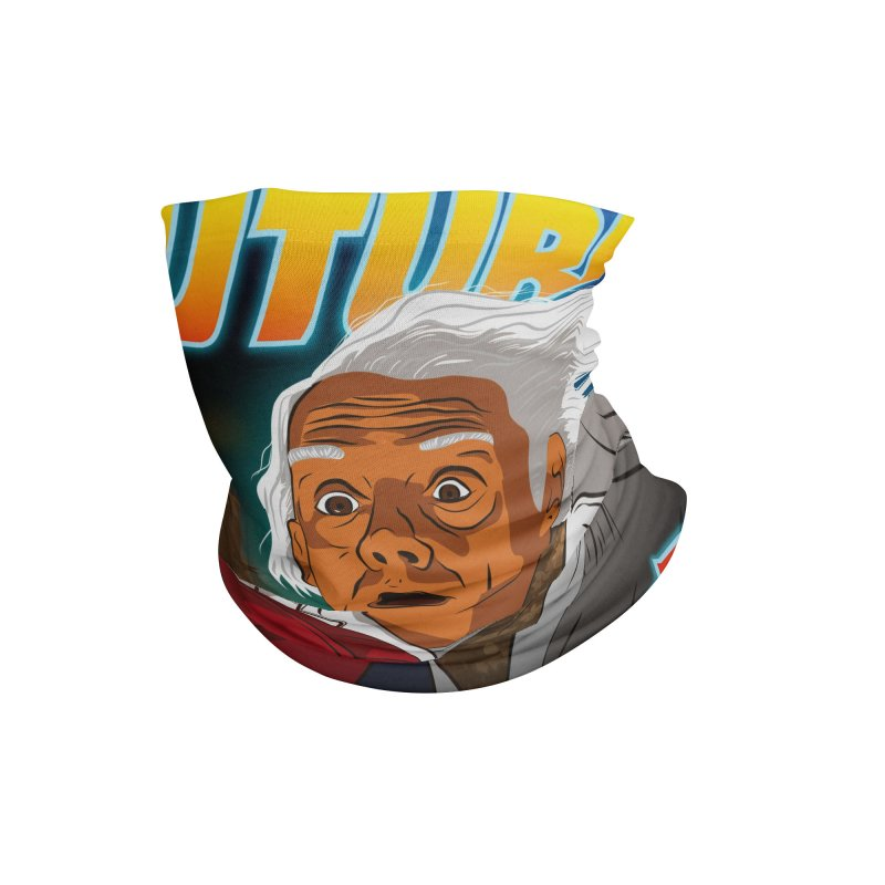 Back to the future Fan Art Accessories Neck Gaiter by Sofimartina's Artist Shop