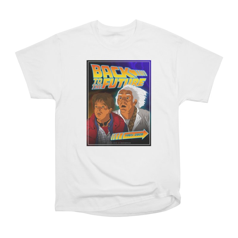 Back to the future Fan Art Women's T-Shirt by Sofimartina's Artist Shop