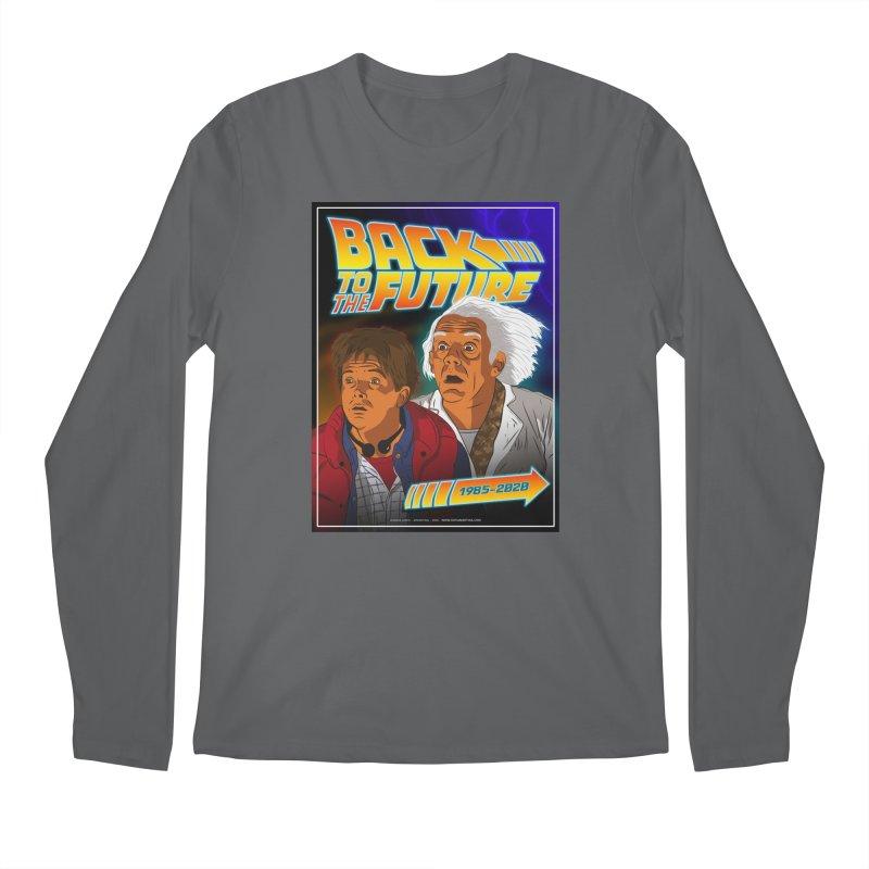 Back to the future Fan Art Men's Longsleeve T-Shirt by Sofimartina's Artist Shop