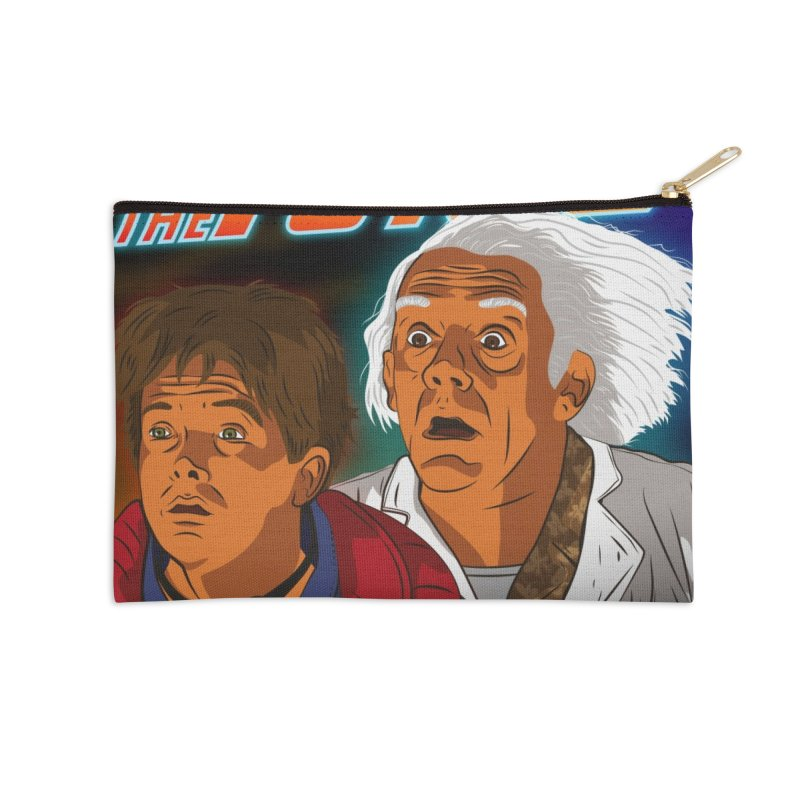 Back to the future Fan Art Accessories Zip Pouch by Sofimartina's Artist Shop
