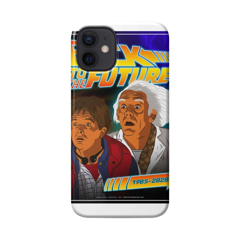 Back to the future Fan Art Accessories Phone Case by Sofimartina's Artist Shop