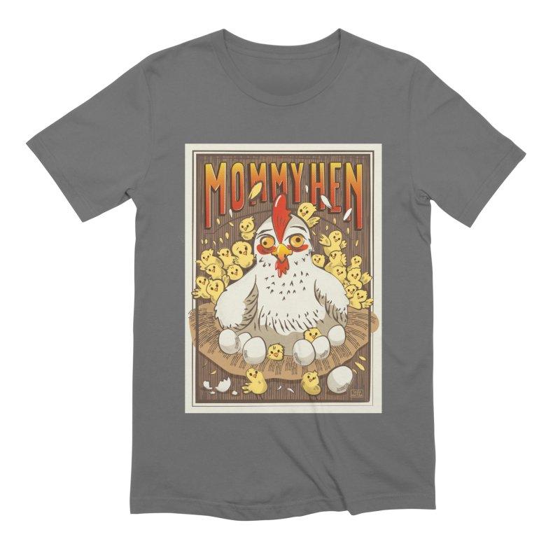 Moomy Hen Men's T-Shirt by Sofimartina's Artist Shop
