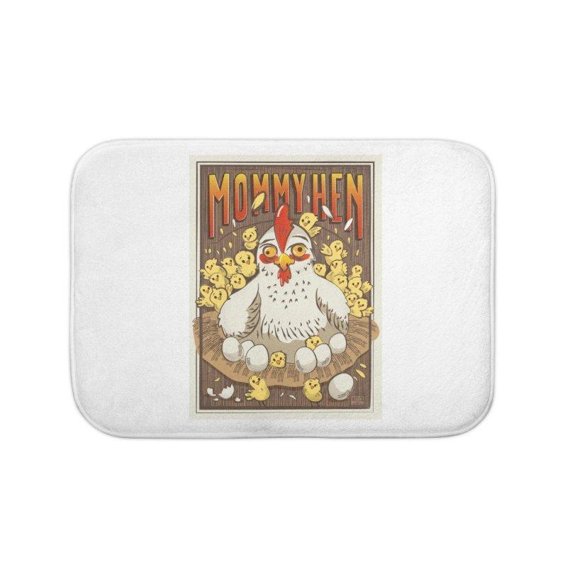 Moomy Hen Home Bath Mat by Sofimartina's Artist Shop