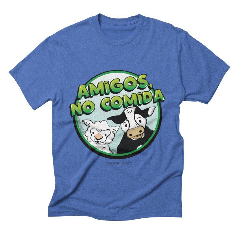 Friends no food Men's T-Shirt by Sofimartina's Artist Shop