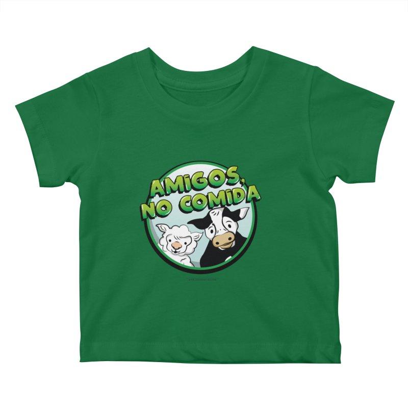 Friends no food Kids Baby T-Shirt by Sofimartina's Artist Shop