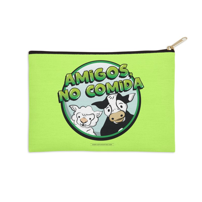 Friends no food Accessories Zip Pouch by Sofimartina's Artist Shop