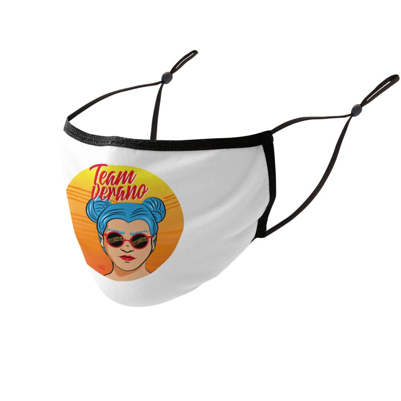 Team Summer Accessories Face Mask by Sofimartina's Artist Shop