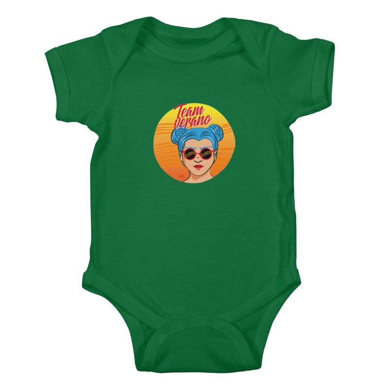 Team Summer Kids Baby Bodysuit by Sofimartina's Artist Shop